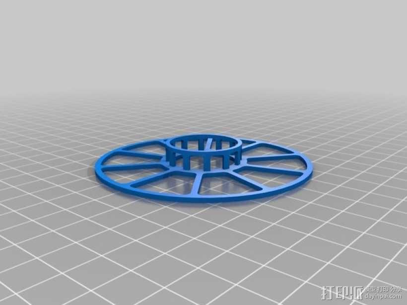 电缆卷绕器 3D模型  图3