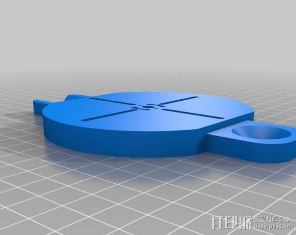 PCB台砧 曲面辅助装置 3D模型  图3