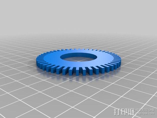 Rpm 轮盘 3D模型  图2