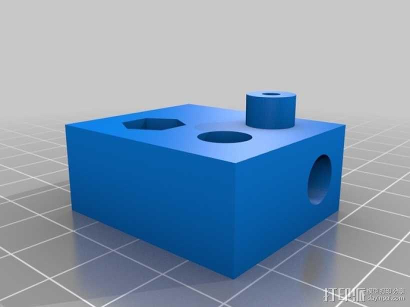 Adafruit USB显微镜支架 3D模型  图3