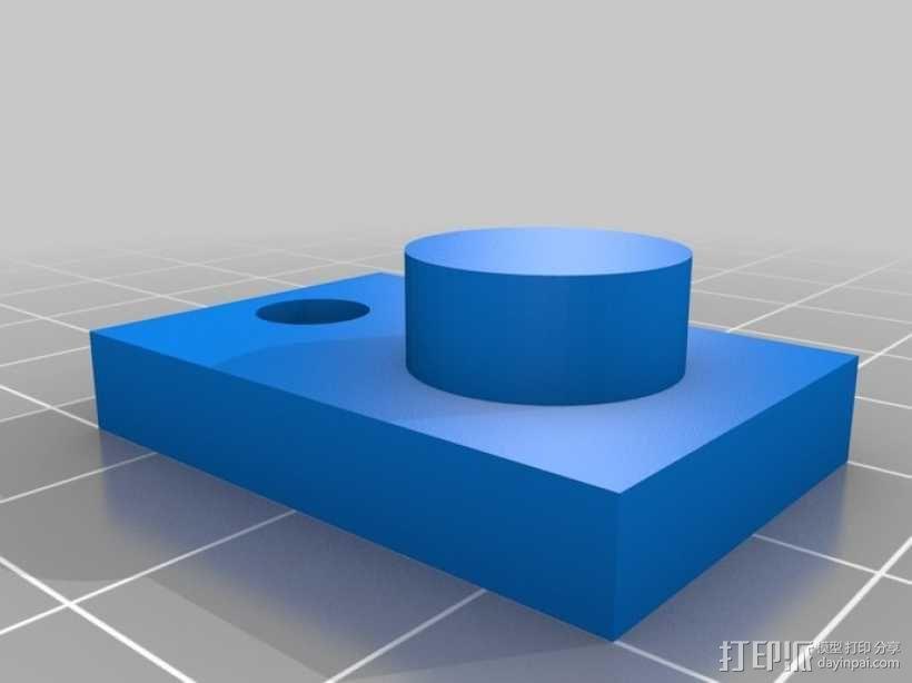 Adafruit USB显微镜支架 3D模型  图4