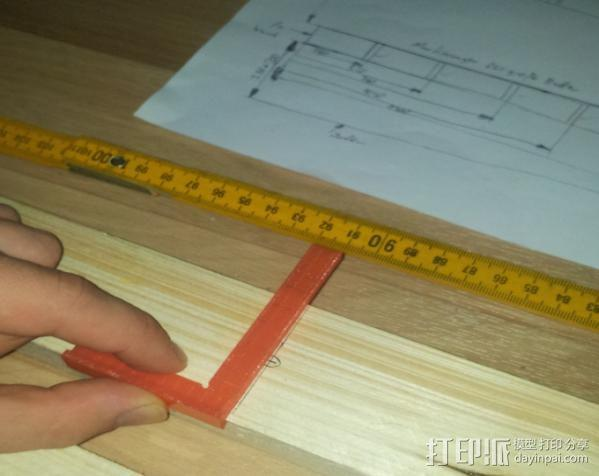 曲尺 3D模型  图1