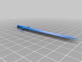 宝剑 开信刀 3D模型