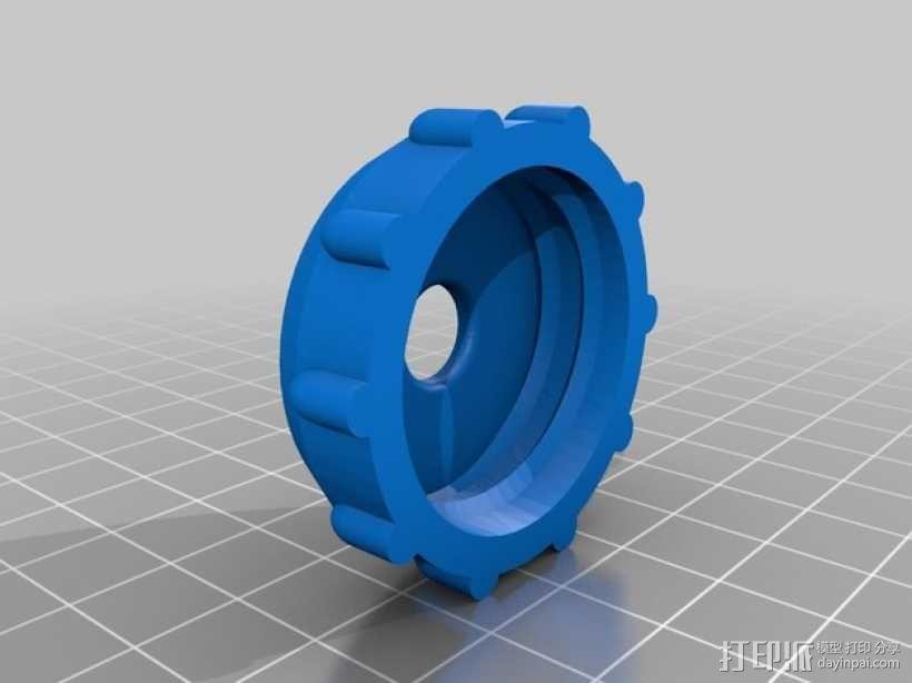 手电筒 3D模型  图2