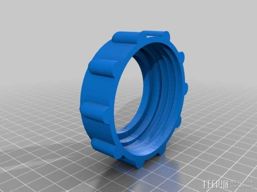 手电筒 3D模型  图4