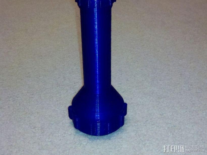 手电筒 3D模型  图7