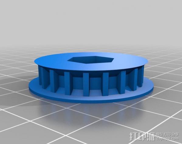 参数化正时带轮  3D模型  图5