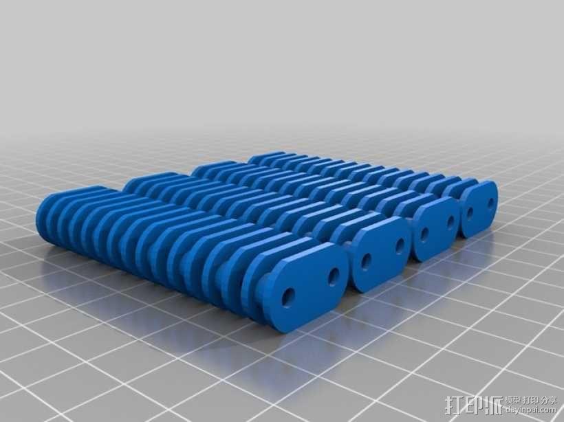 传动链  3D模型  图1