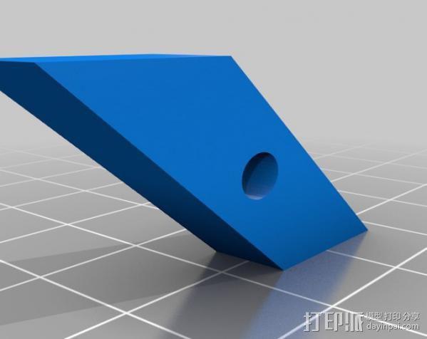 自调整T形螺母 3D模型  图8