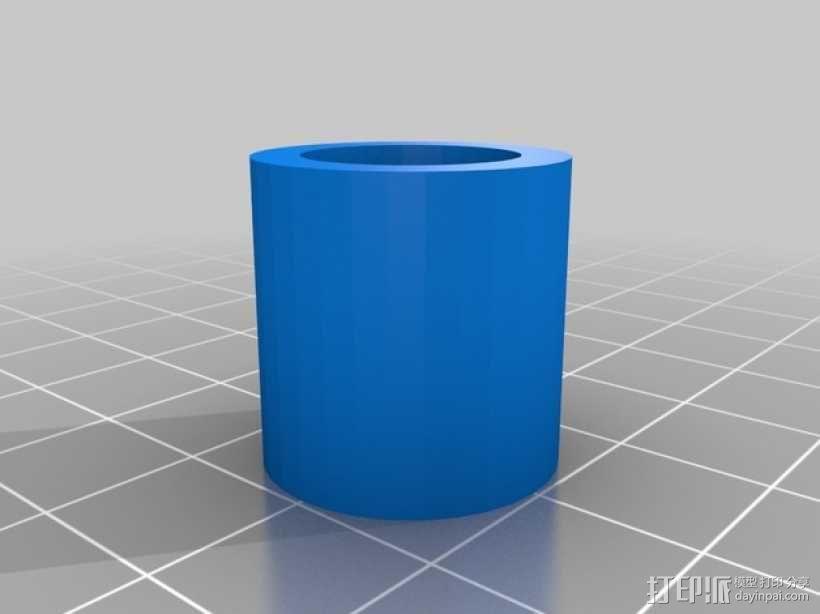 软管端盖  3D模型  图2