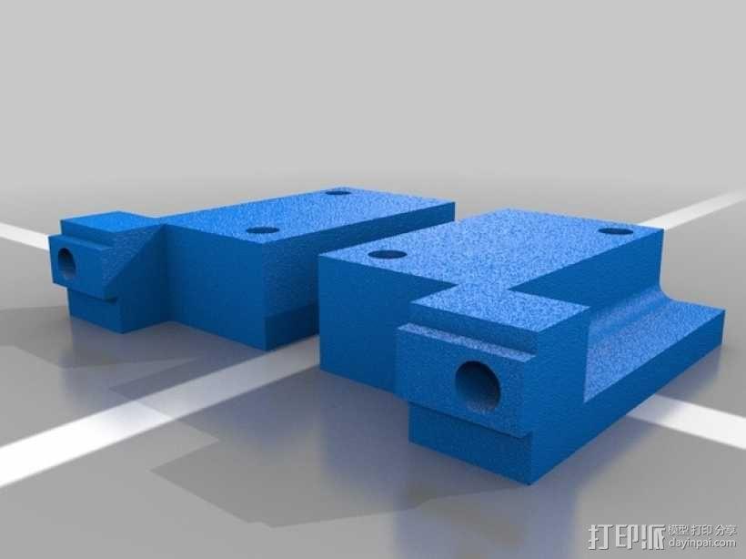 Shapeoko 2限位开关 3D模型  图2