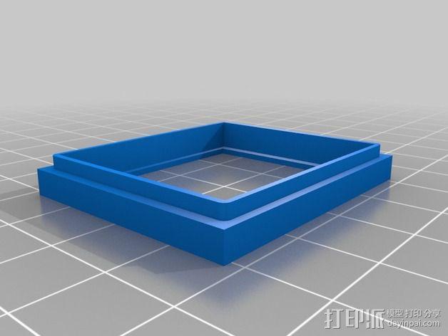 手表零部件 3D模型  图1