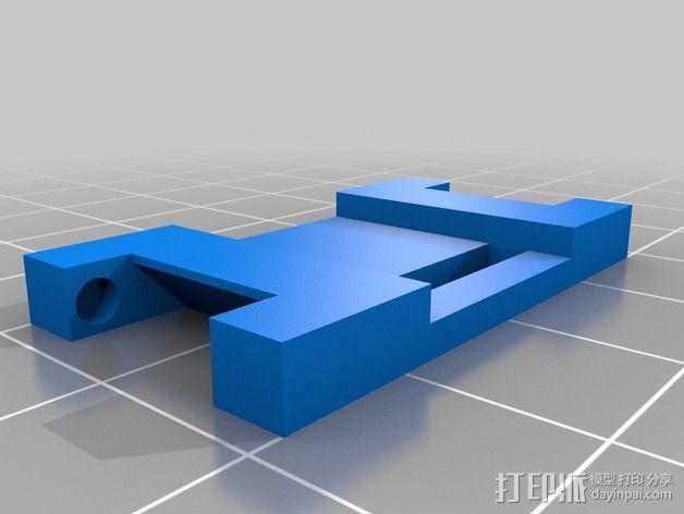 手表零部件 3D模型  图3