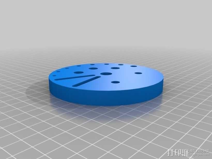 圆形工具架 3D模型  图1