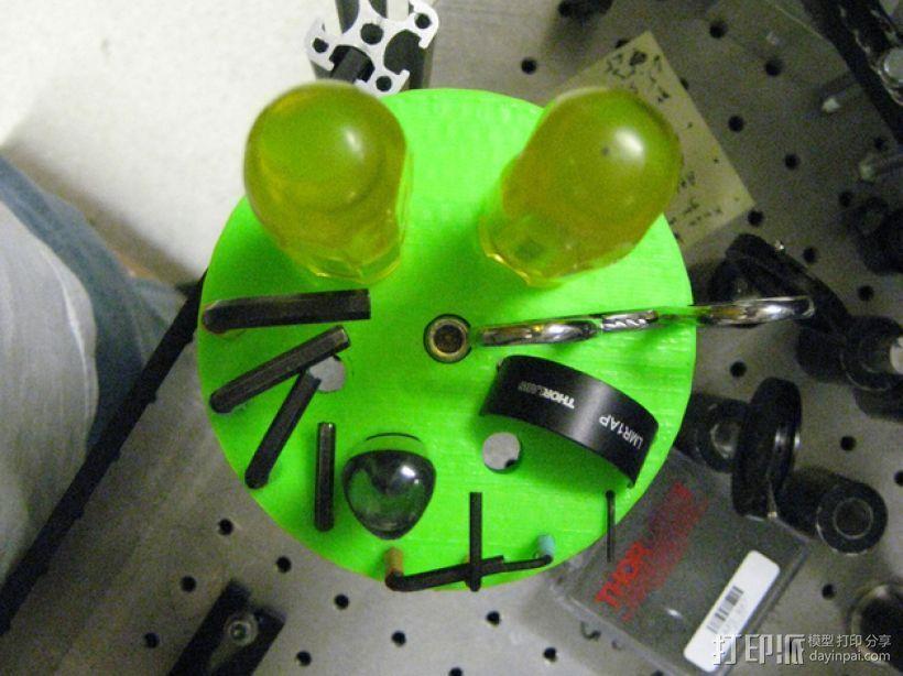 圆形工具架 3D模型  图2