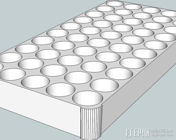 重制子弹托盘 3D模型  图2