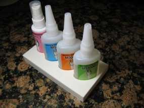 胶水瓶支架 3D模型