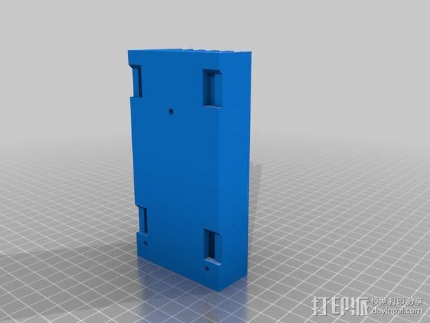 棘轮扳手 工具架 3D模型  图5