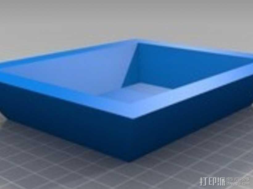 简易&参数化托盘  3D模型  图2