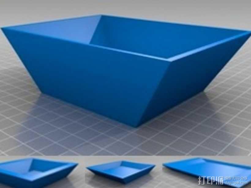 简易&参数化托盘  3D模型  图1