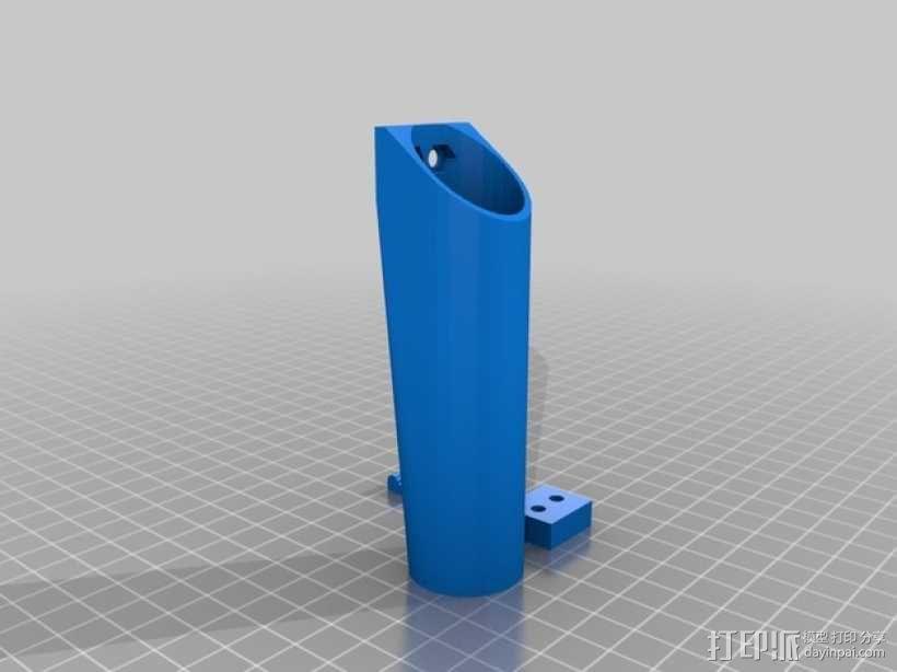 Mech-Mod电子烟保护套 3D模型  图2