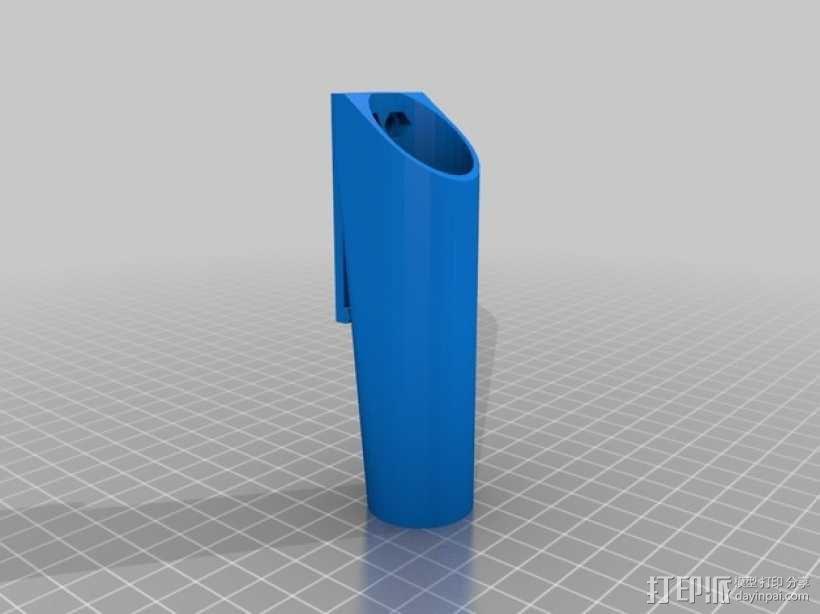 Mech-Mod电子烟保护套 3D模型  图3