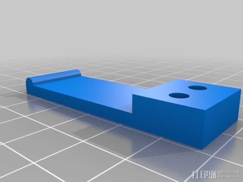 Mech-Mod电子烟保护套 3D模型  图4