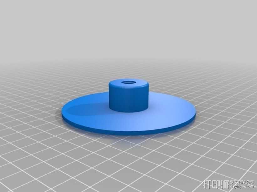 三脚架  3D模型  图5
