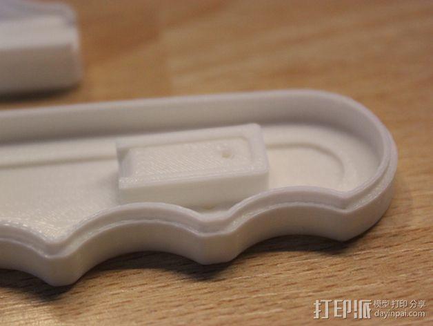 锯条把手 3D模型  图4