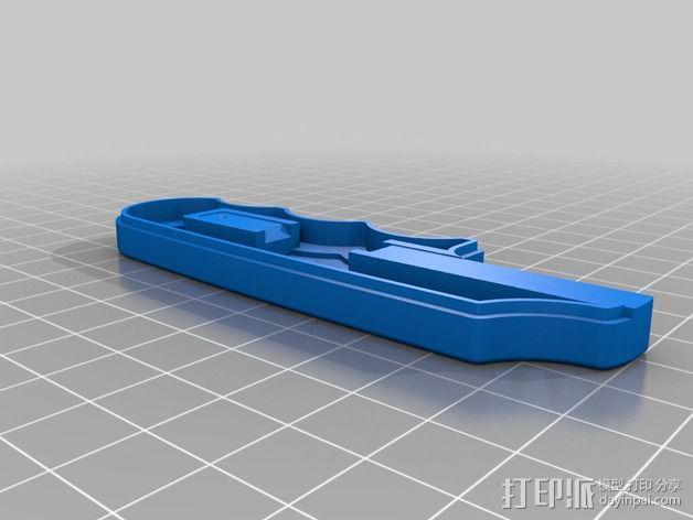 锯条把手 3D模型  图8