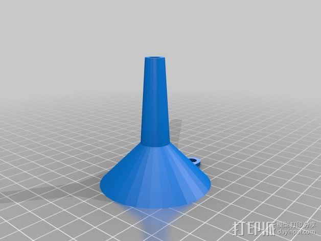 定制化漏斗 3D模型  图1