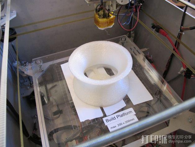 拉杆转盘 3D模型  图6