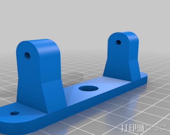拉杆转盘 3D模型  图10