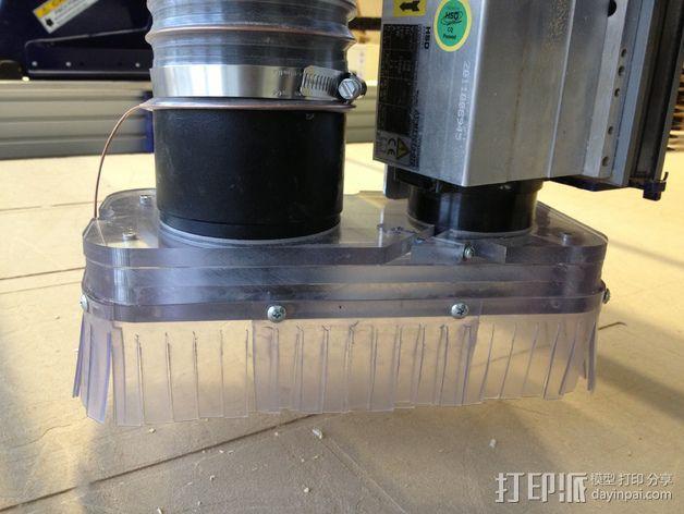ShopBot除尘条 3D模型  图1
