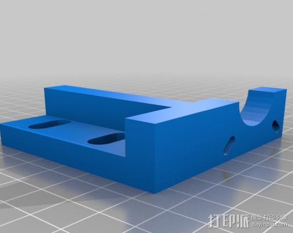 CNC数控车床零部件 3D模型  图2