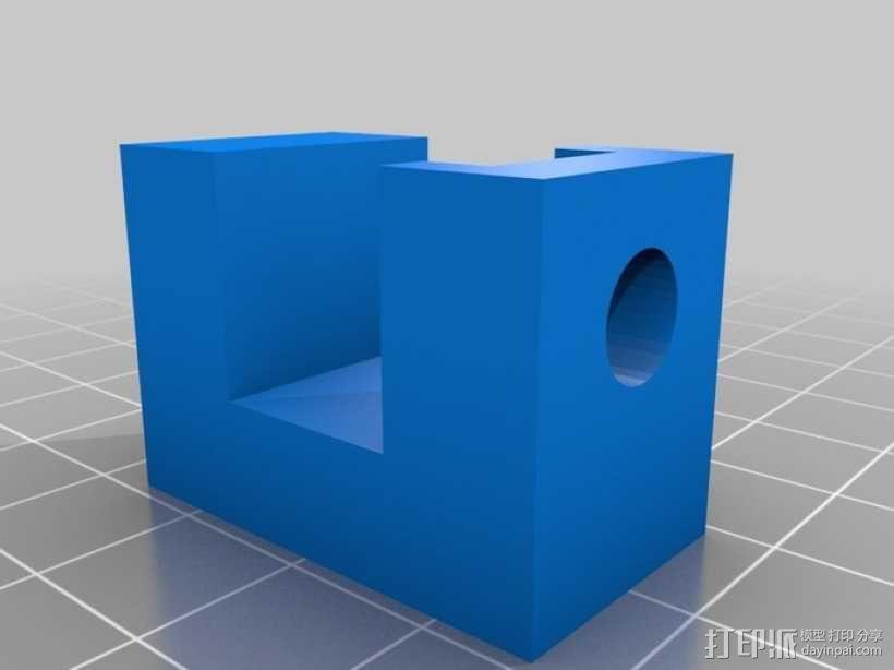 C形夹 3D模型  图2