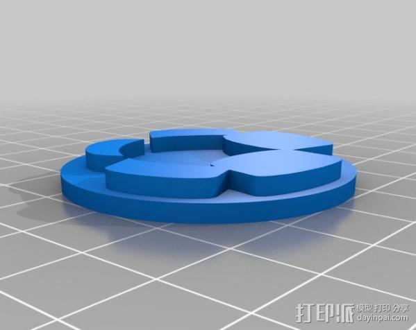 个性化印章  3D模型  图4