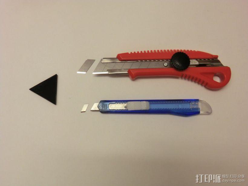 美工刀刀片更换装置 3D模型  图1