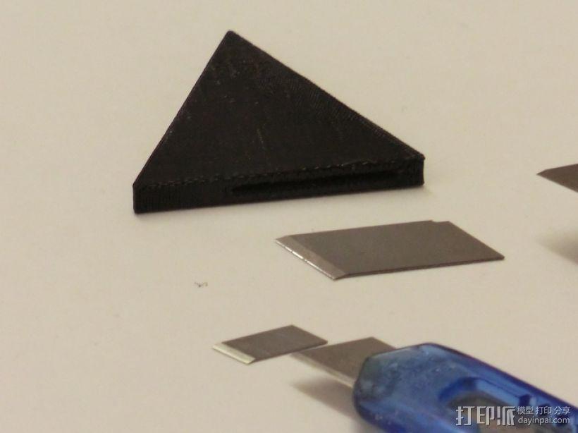 美工刀刀片更换装置 3D模型  图4