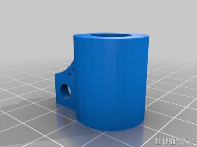 草药压制机 3D模型  图2