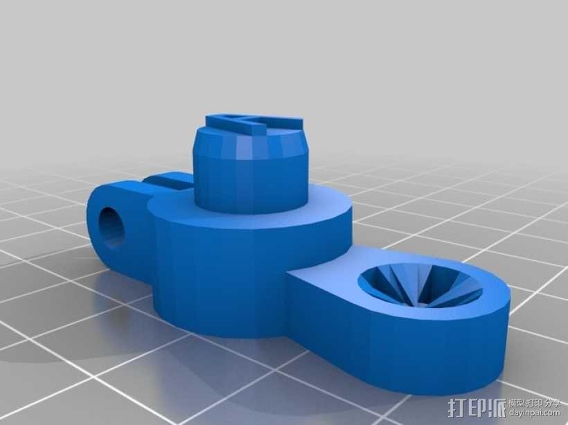 草药压制机 3D模型  图4