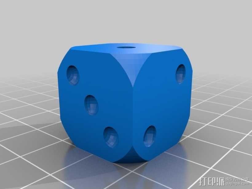 个性化骰子 3D模型  图2