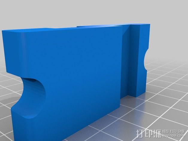 USB线缆收纳架 3D模型  图2