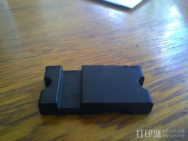 USB线缆收纳架 3D模型  图3