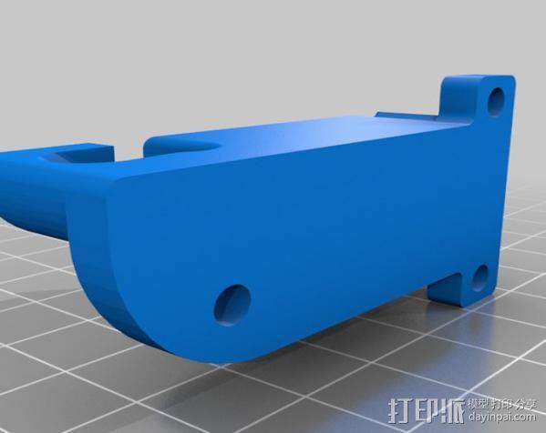 绳索 夹具 3D模型  图2