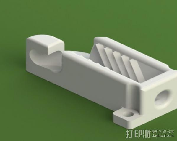 绳索 夹具 3D模型  图3