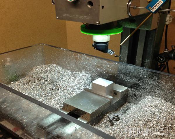 G0704/TM20VL铣床主轴LED照明环 3D模型  图5