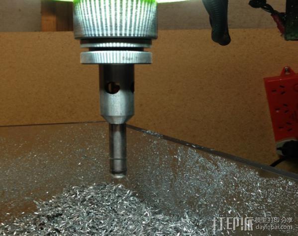 G0704/TM20VL铣床主轴LED照明环 3D模型  图4