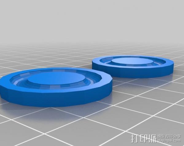 推力轴承 3D模型  图2