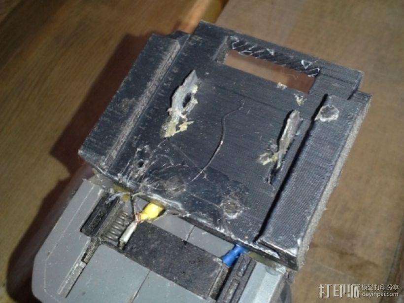 makita电池适配器 3D模型  图4